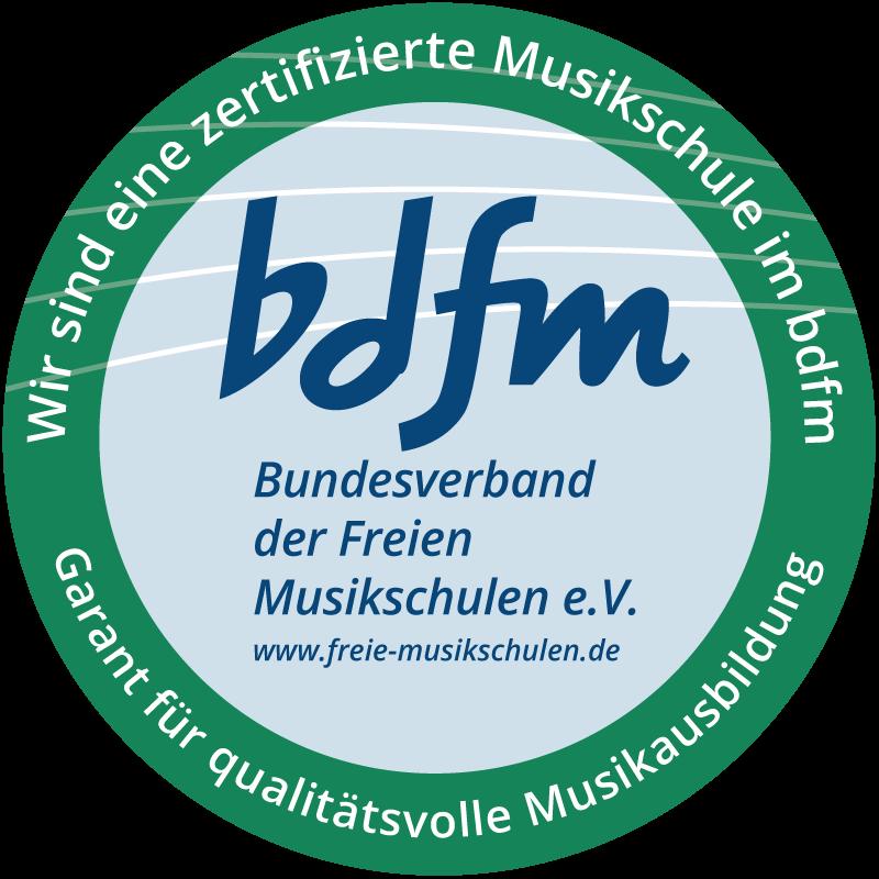 bdfm-Aufkleber-Zertifizierung